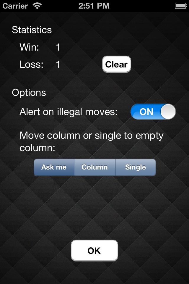 Screenshot i-Freecell
