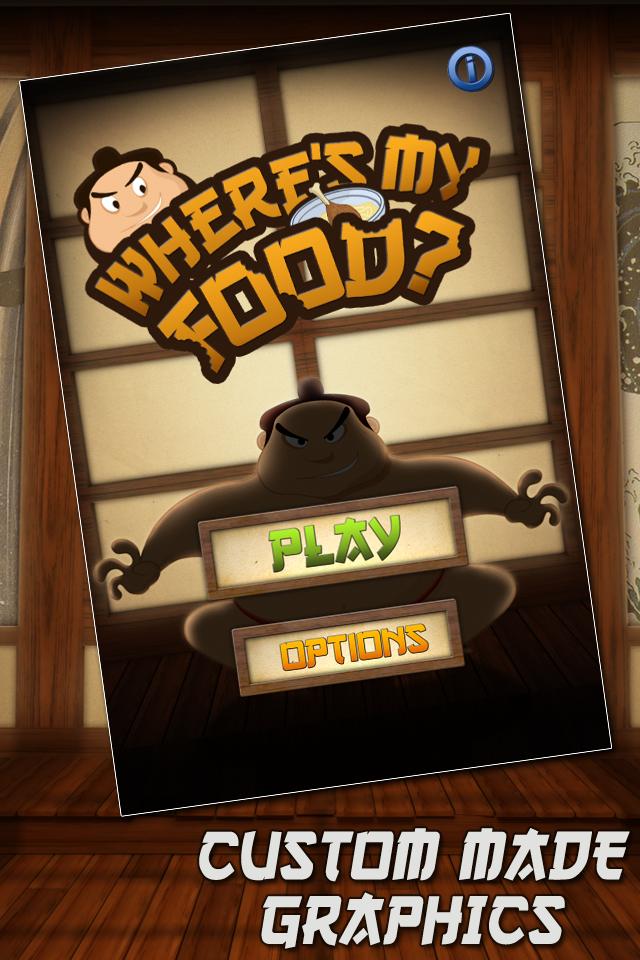 Screenshot Where's my Food Free Game